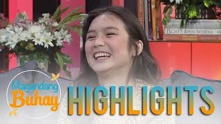 Magandang Buhay: Francine shares her reaction to being a part of