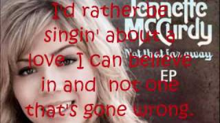Jennette McCurdy - Break Your Heart w/ Lyrics