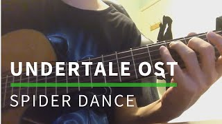Undertale OST: Spider Dance (Solo Guitar Cover)  [TABS]