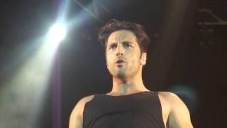 "David Bustamante "" COBARDE "" Islazul 28/6/13 Police Tour"