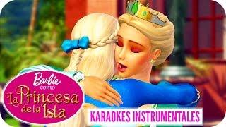 En Mis Brazos - Reunión | Karaoke Instrumental | Barbie™ como La Princesa de la Isla