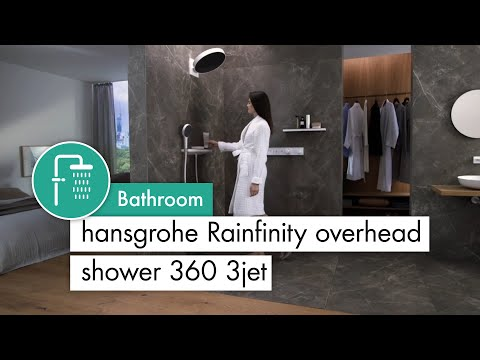 hansgrohe Rainfinity Overhead shower