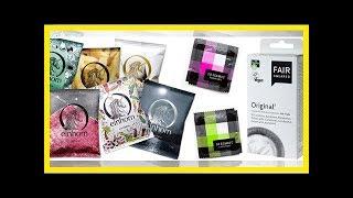 Diese Kondome sind nachhaltig, fair und vegan