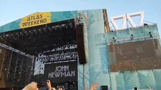 John Newman - Never let you go. 30.06, main stage, AW