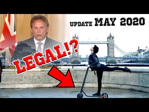 Are E-Scooters Legal in the UK!? 🇬🇧(UPDATE MAY 2020)