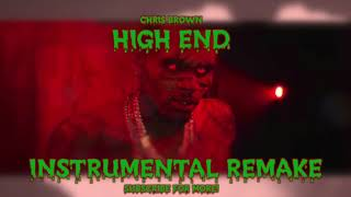Chris Brown - High End | Official Instrumental (ft Future, Young Thug)