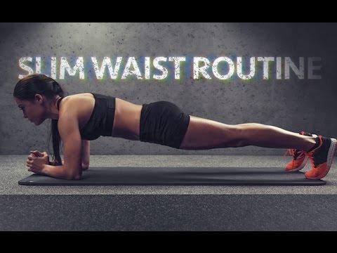 8 Minute Plank Workout (SLIM WAIST ROUTINE!!)