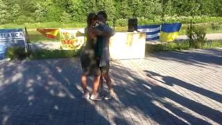 MK Kizomba (Tarraxinha) - Денис Богданов и Ксения Мадюдя - Agua Blanca Salsa Festival