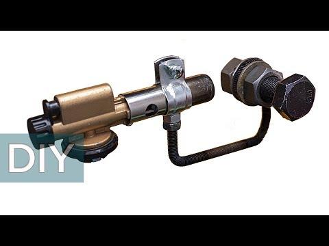 Как сделать паяльник для ПВХ труб из газовой горелки и еще две самоделки. Стройхак. photo