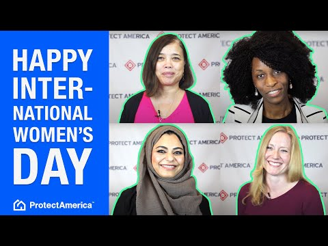 Happy International Women's Day from Protect America