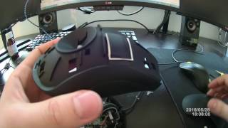 Razer Deathadder mouse sensitive right click fix disassembly