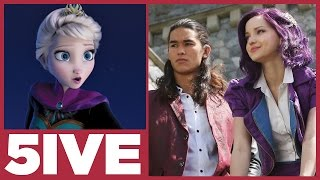 Descendants vs. Frozen | Top 5 Songs from Films