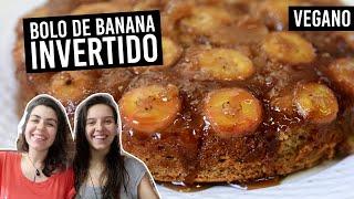 3 VERSÕES DE BOLO DE BANANA  | VEGANO, FÁCIL E SUPER FOFINHO | TNM Vegg