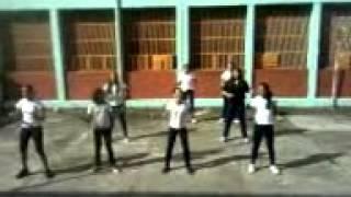 Meninas dançado nega.