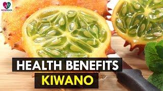 Health Benefits of Kiwano - Health Sutra