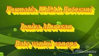 Formatia IDEAL Botosani_Bate vantul canepa 2017