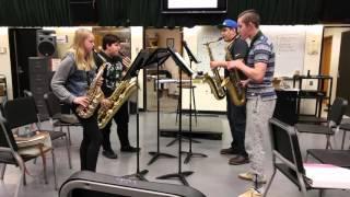 Yakety Sax - SHS Saxy Sax Quartet