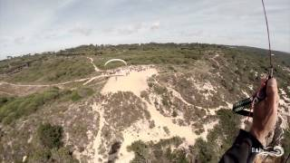 Parapente au Portugal - Le spot de Fonte da Telha