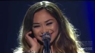 "Jessica Sanchez Sings ""The Prayer"" at American Idol's Season 15 Finale"