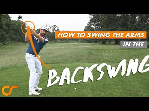 HOW TO SWING THE ARMS IN THE BACKSWING