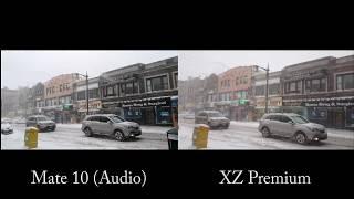 Huawei Mate 10 vs Sony Xperia XZ Premium 4K Camera Test!