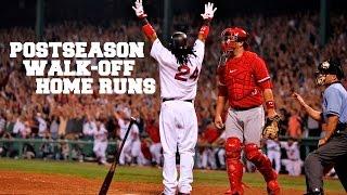 MLB: Postseason Walk-Off Homeruns (HD)