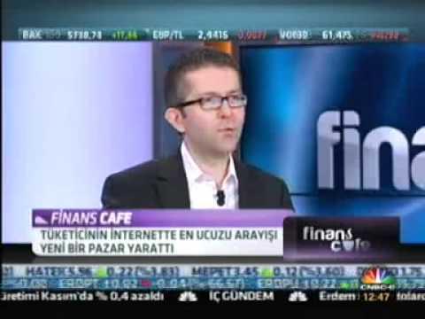 Enuygun.com kurucusu Çağlar Erol Finans Kafe programında