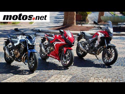 Honda CB500F/CB500X/CBR500R 2019 | Presentación / Test / Review en español HD