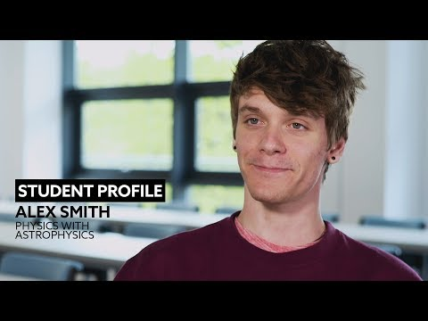 Student Profile | Alex Smith | Physics with Astrophysics