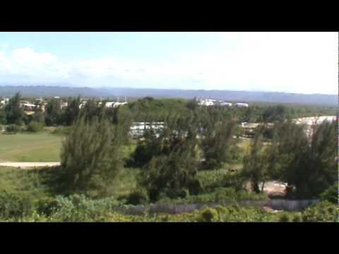 Panoramica desde el faro de Arecibo, Puerto Rico