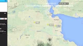 "Juanda Intl. Airport ATC Live Feed | 2014/SEP/25 ""Bercanda"""