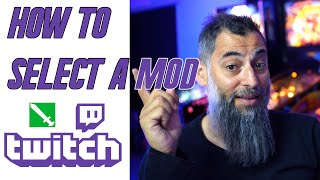 How to mod someone on twitch videos / InfiniTube