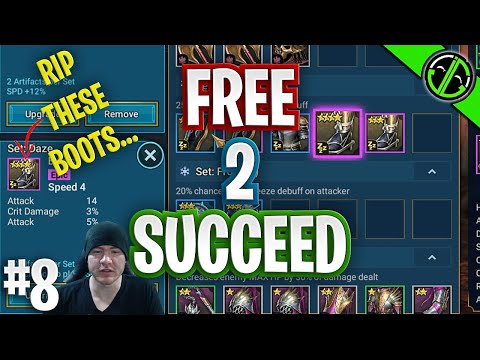 I Should REALLY Have Coffee Before Sorting Gear... Free 2 Succeed - EPISODE 8