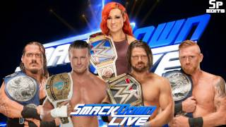 "Smackdown Live - ""Take  A Chance"" - Theme Song 2016"