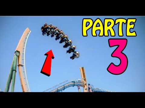 Os mais TENSOS acidentes em Parques de Diversões!