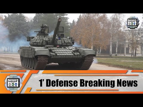 Serbian army unveils its new acquisition of Russian T-72B1MS White Eagle main battle tanks