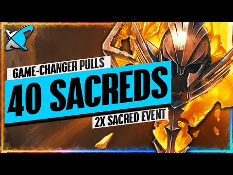 GAME-CHANGER PULLS !! | 2X Sacreds Event Viewer Summons | RAID: Shadow Legends