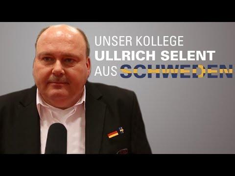 unser Kollege Ulrich Selent aus Schweden
