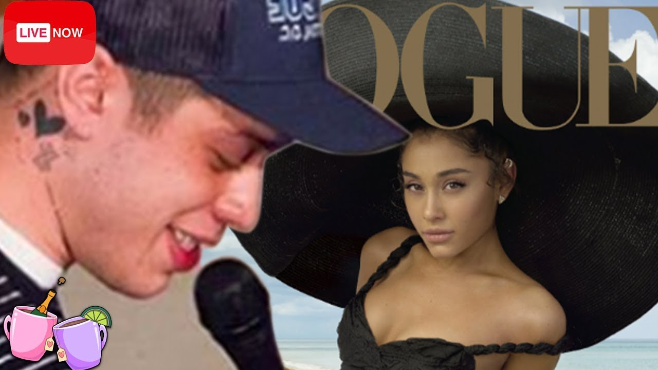 Pete Davidson shades Ariana Grande for Spray Painting herself brown on New Vogue Cover