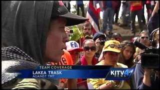 Mauna Kea protesters halt TMT construction