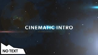 (Free) Cinematic Title Intro Template - After Effects, Premiere Pro, Sony Vegas, Blender | NO TEXT