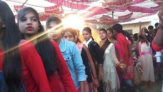 नया धमाकेदार Dance आदिवासी मैरिज || Smart Girls Dance || new step || Arjun R Meda
