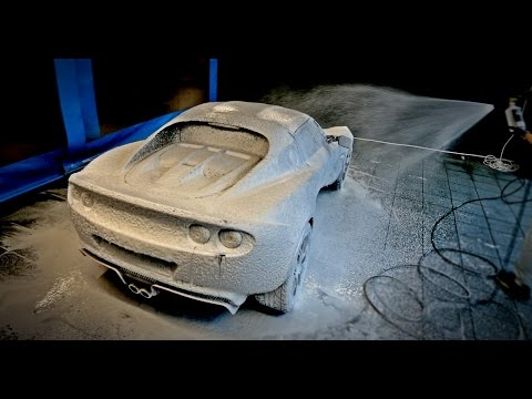 THE ULTIMATE CAR WASH!