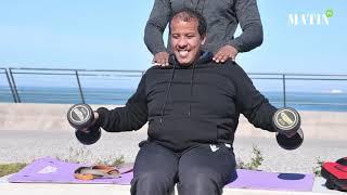 Abdelaziz et Mohamed... une leçon de volonté, de détermination et d'amitié