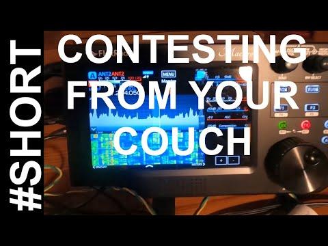 Ham Radio Contesting - Contesting From Your Couch #Short #Flexradio #Maestro