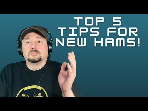 Top 5 Tips for New Ham Radio Operators (Beginners)