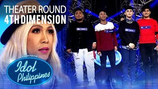 """4th Dimension sings """"Stay With Me"""" at Theater Round 
