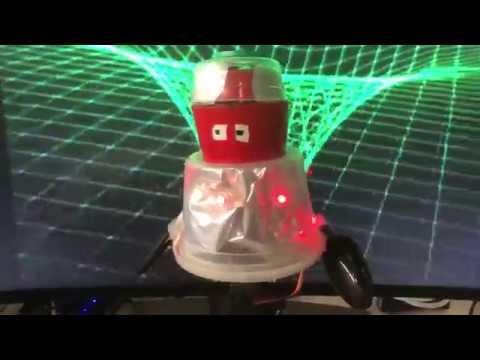 B.O.B. robot made with CRICKIT #MakeRobotFriend @adafruit #adafruit