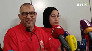 L'entraîneur de la taekwondoiste Fatima Zahra Abou Faras crie au scandale
