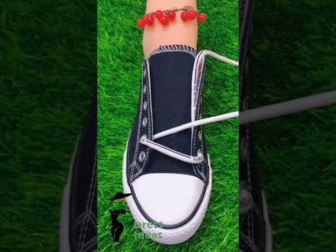 Creative WAYS To Tie Your Shoe Laces #Shorts